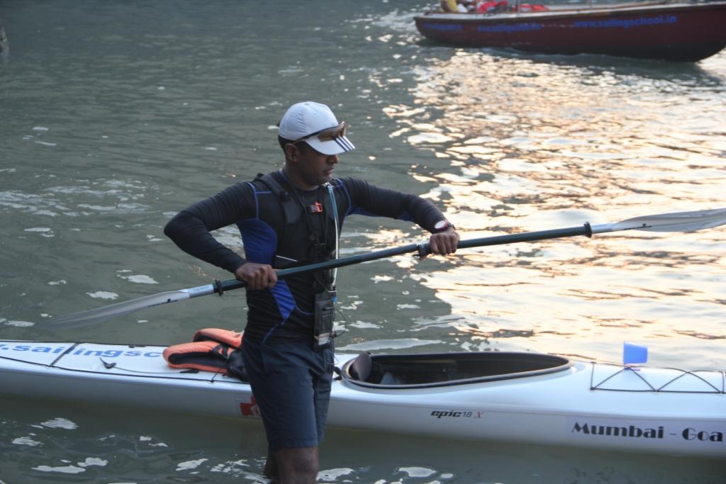 Assembling the paddles