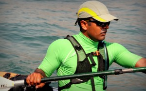 Kaustubh out Kayaking
