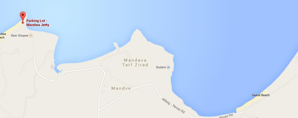 Bodani on a map