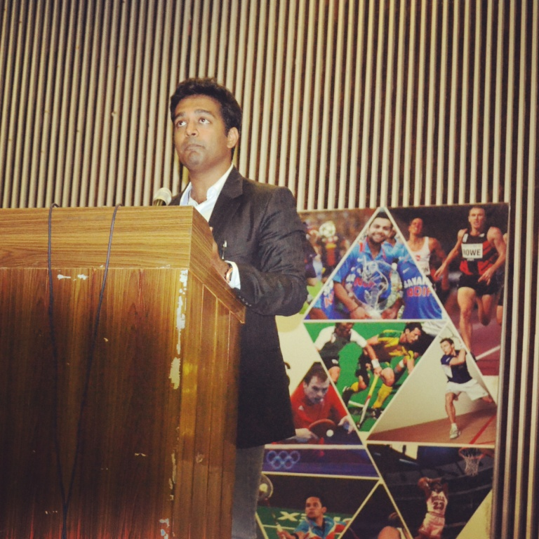 Chief Guest at IIT Roorkee's Sports Festival 2016