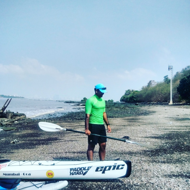 Landing at Elephanta Island