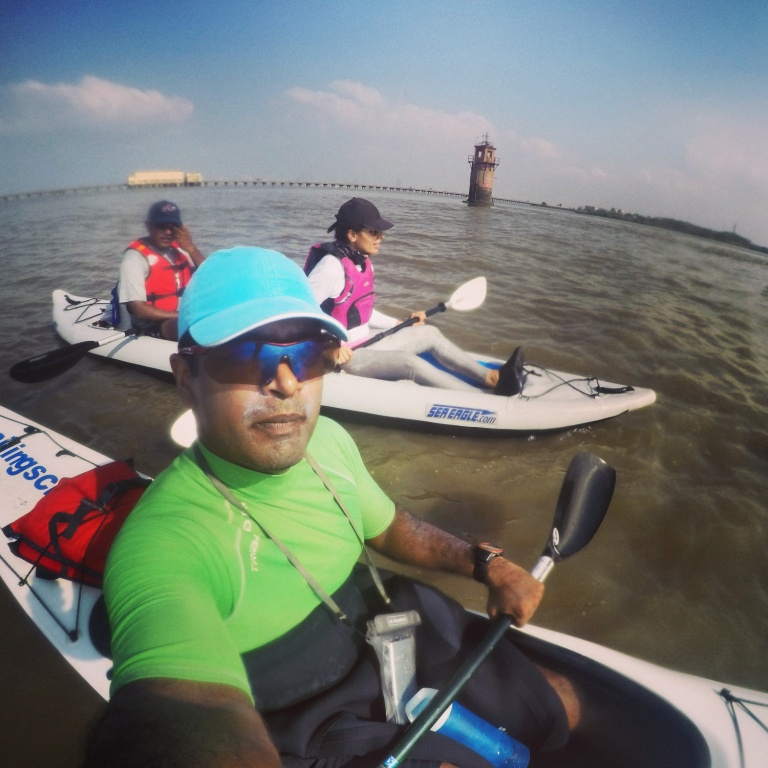 Of Kayaks, Lighthouses & Bridges