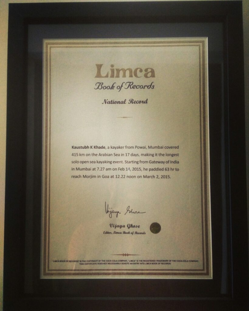 Limca Record Book Entry